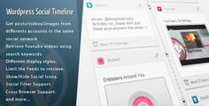 WordPress Social Timeline v1.7.4