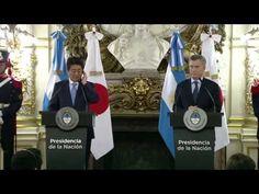 Norte en Línea - Declaración conjunta del Presidente Mauricio Macri y el Primer Ministro de Japón, Shinzo Abe