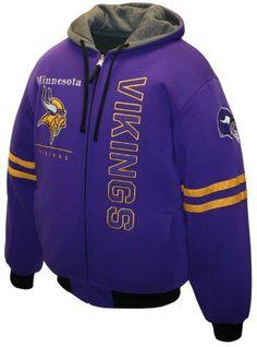 NFL Men's Minnesota Vikings Dual Edge Reversible Hoodie Full-Zip Sweatshirt MTC. $129.99