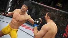 Bruce Lee será lutador selecionável em EA Sports UFC 2014 ~ Neuralizador Digital