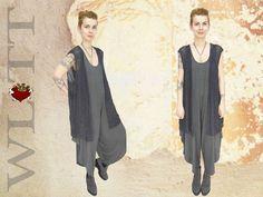 Westen - Weste **BRIDIE**  Lagenlook - ein Designerstück von WLTT-Fashiondesign bei DaWanda