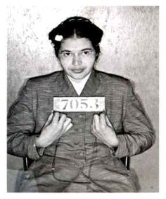 One of my favorite heroes, Rosa Parks.