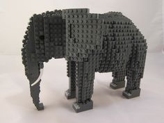 LEGO Elephant | Recent Photos The Commons Getty Collection Galleries World Map App ...