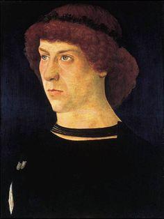 Giovanni Bellini, Portrait of Jörg Fugger, 1474, Oil on panel, 26 x 20 cm, Norton Simon Museum of Art, Pasadena