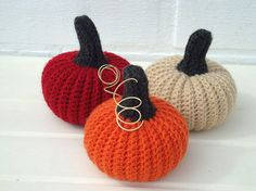 Fall Decor Pumpkins set 11 Halloween pumpkins by OlgaArtShop