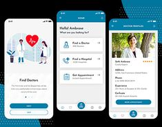 Develop a Professional Doctor App Profile App, Hospital Architecture, App Development, New Work, Health Care, Behance, Medical, Gallery, Check