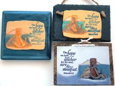 Hanging Anchor Verse Plaque The hope we have is an by WordofGod, $13.50