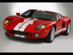 2005 Red Ford GT