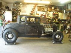 1930 ford model a coupe hot rod
