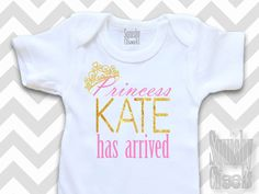Princess Has Arrived, Take Home Infant Outfit, Personalized Baby Girl Onepiece, Newborn Girl Clothes, Shower Gift, Hospital Newborn Outfit by BabySquishyCheeks on Etsy https://www.etsy.com/listing/212806637/princess-has-arrived-take-home-infant