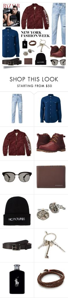 """""""NYFW"""" by madeinmalaysia ❤ liked on Polyvore featuring Ksubi, Acne Studios, Hollister Co., Columbia, Gucci, Burberry, Nasaseasons, Tokens & Icons, Frye and Givenchy"""