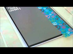 ▶ How To: Making a Duct Tape Notebook Cover - YouTube