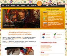 Slöjd i Skåne, Sweden. Website built in Wordpress