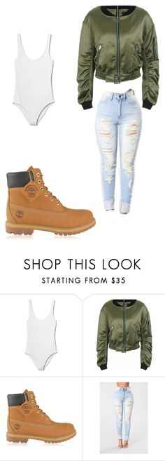 """Untitled #209"" by yoce-lyn on Polyvore featuring Gap and Timberland"