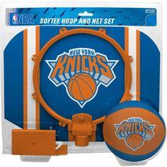 Rawlings NBA Slam Dunk Softee Hoop Set New York Knicks, Multicolor