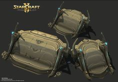 ArtStation - StarCraft 2, Legacy of the Void - Campaign Art! Final Round, Chaz Head