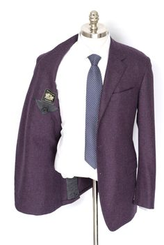 Designer Sport Coats & Blazers at Frieschskys. Browse a Huge Selection of Armani, Zegna, Kiton, Brioni & Canali. Mens Designer Blazers, Purple Blazers, High Fashion, Mens Fashion, Sport Coats, Formal Wear, Dapper, Cashmere, Burgundy