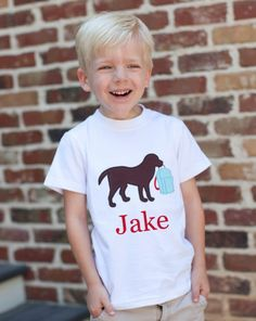 Southern Tots - Southern Tots Boys T-Shirt with Backpack Dog - with Monogram, $20.00 (http://www.southerntots.com/southern-tots-boys-t-shirt-with-backpack-dog-with-monogram/)