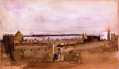 View of Naples - Edgar Degas