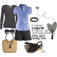 My next bag and next sunglasses? Blue Bird, created by jenniemitchell
