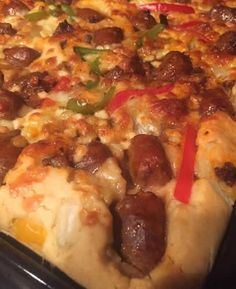 Pizza liquide Facile au thermomix