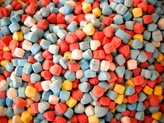 Mexican heart sugar free color candies.  Share your photos and win prizes