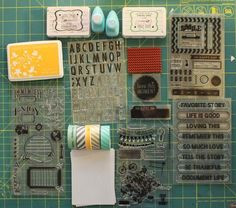 Creating your own journalling cards with your supplies