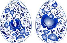 gzhel   Gzhel ( eine Marke der russischen Keramik, mit blau auf weiß lackiert ...