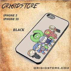 The Avenger Cartoon Black White Snap On 3D For Iphone 5/5S Case