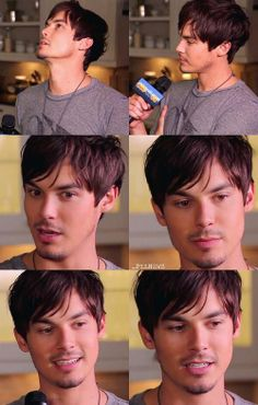 tyler blackburn as Steven (the one for Ray (he normally has longer shoulder length hair which I prefer))