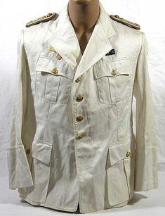 Guerrera de Comandante de submarinos de la Kriegsmarine de verano. uniformes