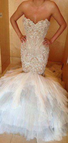 Jaton Couture Mermaid Wedding Dress