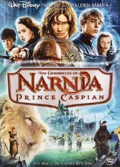 The Chronicles of Narnia Prince Caspian - blue ray