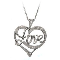 necklace love heart - Google Search