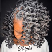 Check Out Protective Styles: How To Curl Locs Here Natural Afro Hairstyles, Dreadlock Hairstyles, Natural Hair Care, Natural Hair Styles, Silver Grey Hair, Gray Hair, Dreadlock Styles, Locs Styles, Natural Hair Inspiration