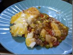 Crock Pot Shepherd's Pie so good with mashed potatoes... www.getcrocked.com