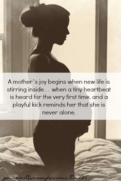 A mothers joy