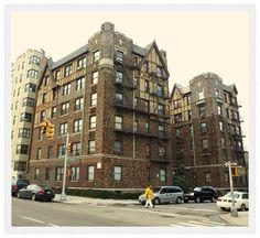 Historic Buildings, Grand Concourse, Bronx, New York City.