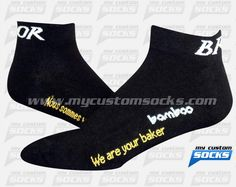 Socks designed by My Custom Socks for Bridor Inc. in Quebec, Canada. Multisport socks made with Coolmax fabric. #Multisport custom socks - free quote! ////// Calcetas diseñadas por My Custom Socks para Bridor Inc. en Quebec, Canada. Calcetas para Multideporte hechas con tela Coolmax. #Multideporte calcetas personalizadas - cotización gratis! www.mycustomsocks.com