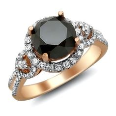 3.0ct Black Round Diamond Engagement Ring 14k Rose Pink Gold Front Jewelers,http://www.amazon.com/dp/B008FCKC0I/ref=cm_sw_r_pi_dp_PQdgsb1E1AAYF9DM