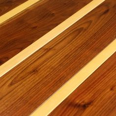 Pinstripe wood floors