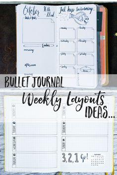 Bullet Journal Weekly Layout Ideas | bullet journal weekly spread | bullet journaling weekly | weekly layout ideas | weekly planner | bullet journal ideas | bullet journal inspiration | bullet journal weekly |