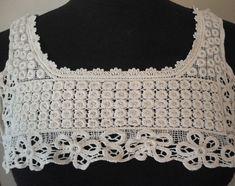 Elegant Cotton Edwardian Style Embellishment by fabricdepo on Etsy