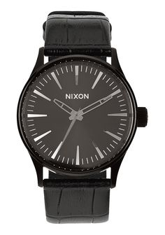 Sentry 38 Leather | Men's Watches | Nixon Watches and Premium Accessories