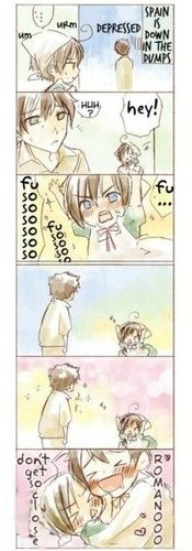Photo of Spamano for fans of Spain x Romano Spamano.