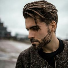 View the best mens hairstyles from Charlemagne Premium male grooming and beard styling We love the sexy looks using pomades, clay, matte paste and the coolest messy looks Tattoo - Thin Hair Cuts Trendy Mens Haircuts, Best Short Haircuts, Cool Haircuts, Side Swept Hairstyles, Boy Hairstyles, Straight Hairstyles, Mens Straight Hair, Classic Mens Hairstyles, Hairdos