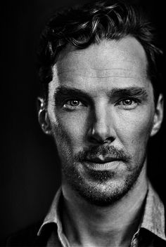 Benedict Cumberbatch, Time Out London Cover. Black and White edit Foto Portrait, Portrait Photography Men, Black And White Portraits, Black And White Photography, Fotografie Portraits, Black And White Face, Celebrity Portraits, Hollywood Actor, Interesting Faces