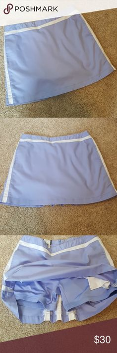 Adidas Sport Skort Skirt Purple 8 Tennis Stretch Adidas Sport Skort Skirt Purple 8 Tennis Shorts, skirt is 16 inches long, short inseam measures 5 1/2 inches. Has pockets.  Bundle two and save twenty percent  All reasonable offers considered Adidas Shorts Skorts
