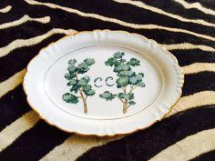 fuente arboles porcelana personalizada iniciales