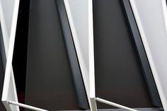 San Mamés Stadium Bilbao Architects: ACXT-IDOM Cesar Azcarate Features: Lacquered Galvanized Steel New San Mamés Stadium #metaldeploye #Chapaperforada #chapaestampada #metalperforado #fachadaventilada #metalexpandido #chapamicroperforada #malladeploye #fachadasmetalicas San Mamés, Metal Facade, Bilbao, Facades, Surfboard, Metal Fabrication, Perforated Metal, Piercing, Sheet Metal